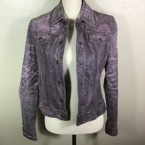Vintage Versace Leather Jacket And Leather Pants